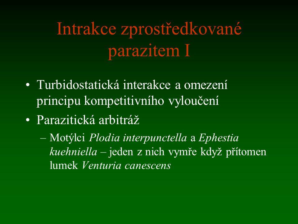 Intrakce zprostředkované parazitem I