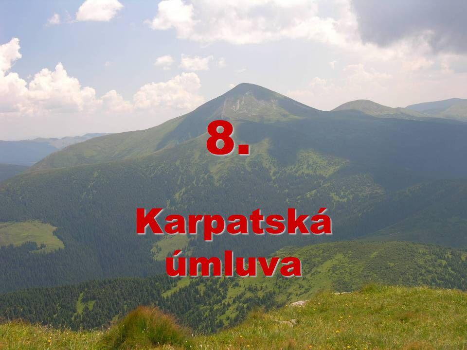 8. Karpatská úmluva