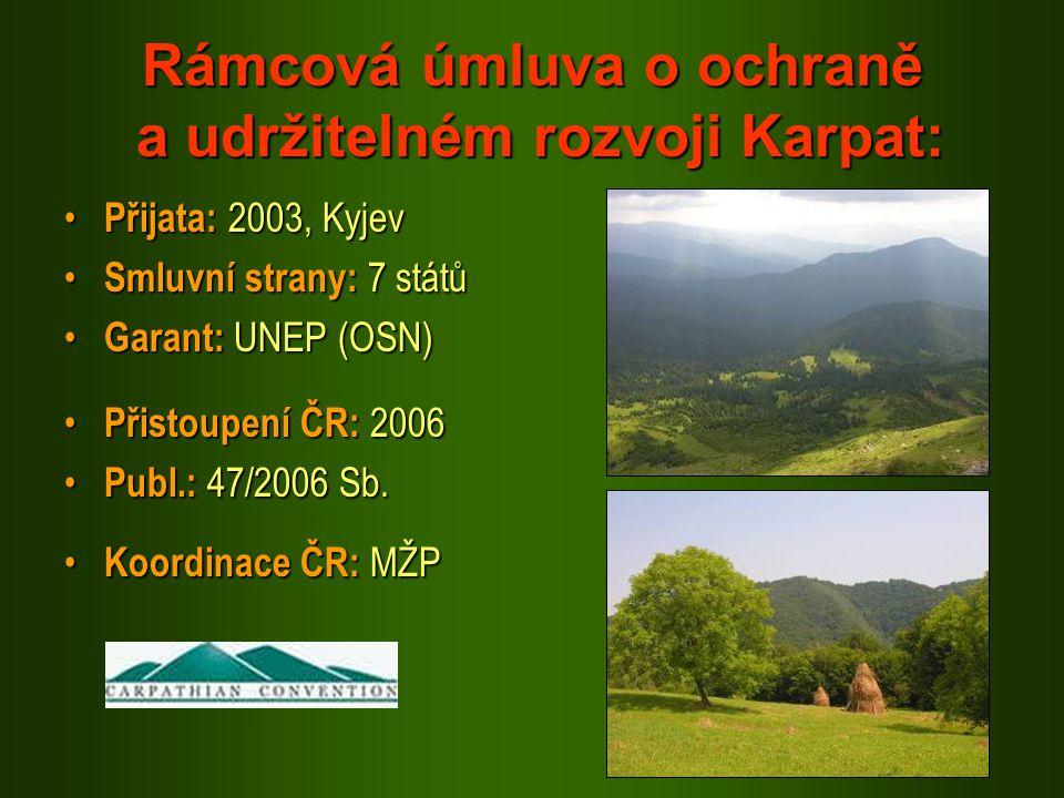 Rámcová úmluva o ochraně a udržitelném rozvoji Karpat: