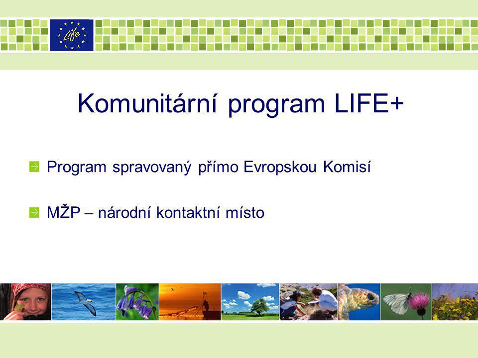 Komunitární program LIFE+