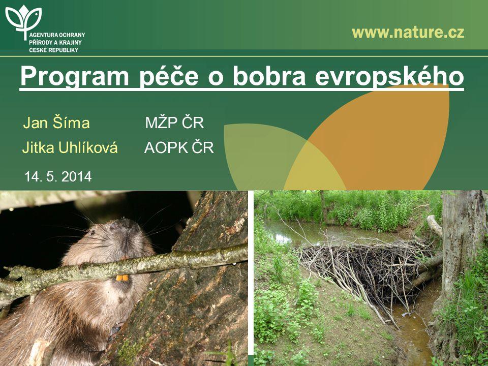 Program péče o bobra evropského