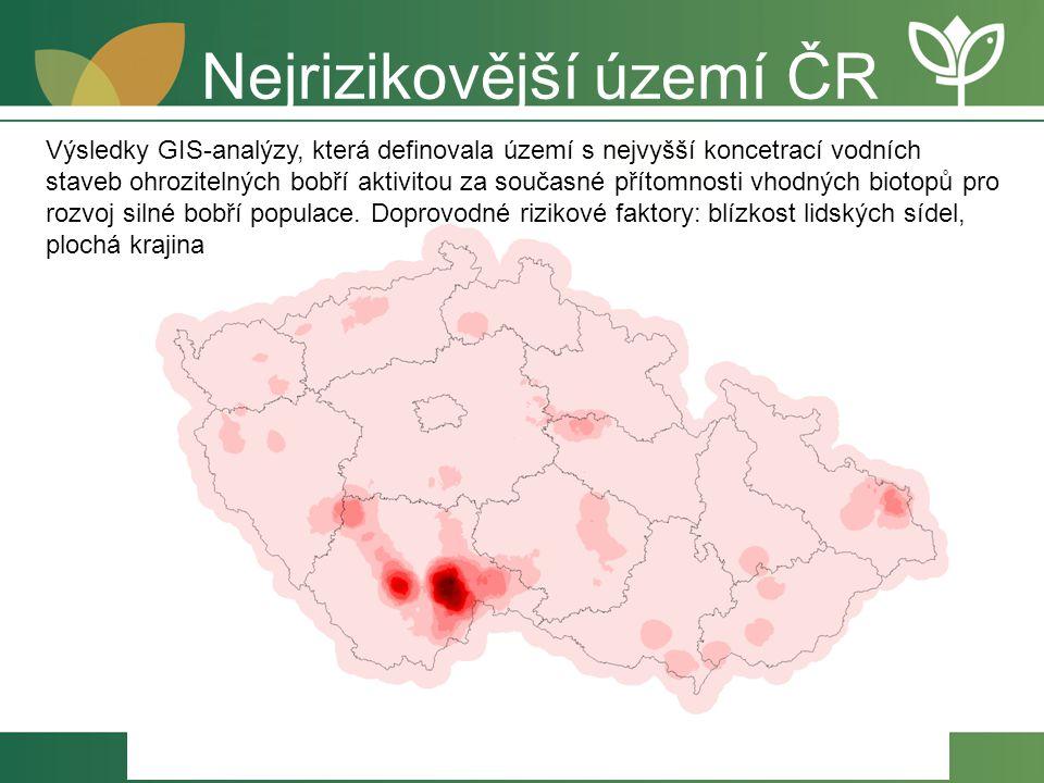 Nejrizikovější území ČR
