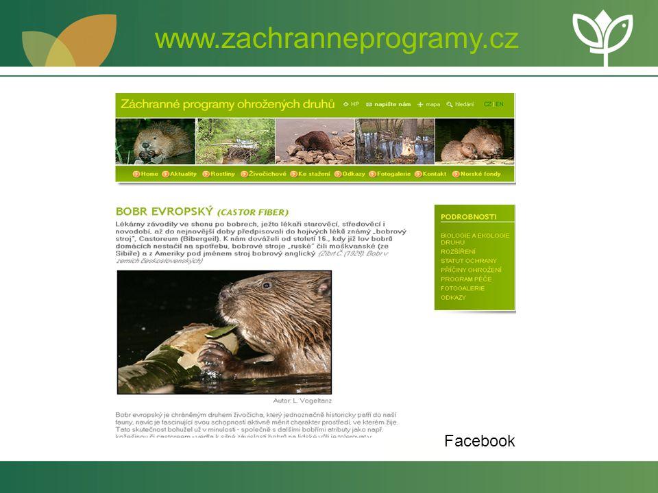 www.zachranneprogramy.cz Facebook