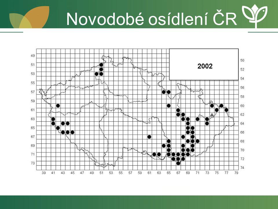 Novodobé osídlení ČR 2002