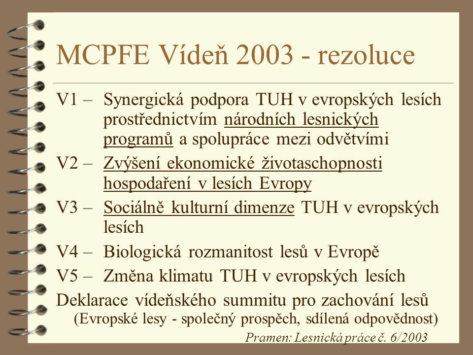 MCPFE Vídeň 2003 - rezoluce