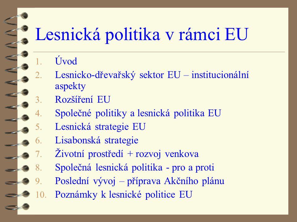 Lesnická politika v rámci EU
