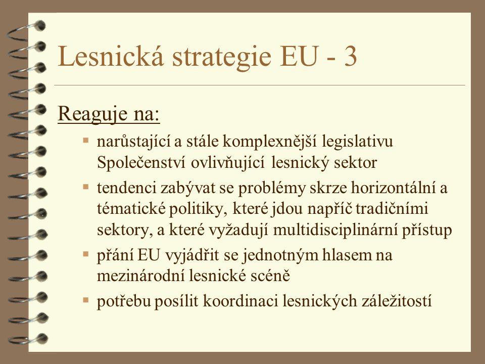 Lesnická strategie EU - 3