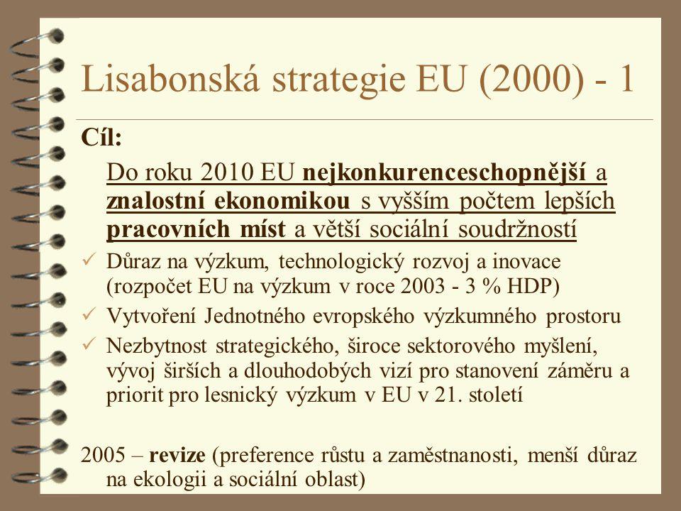 Lisabonská strategie EU (2000) - 1