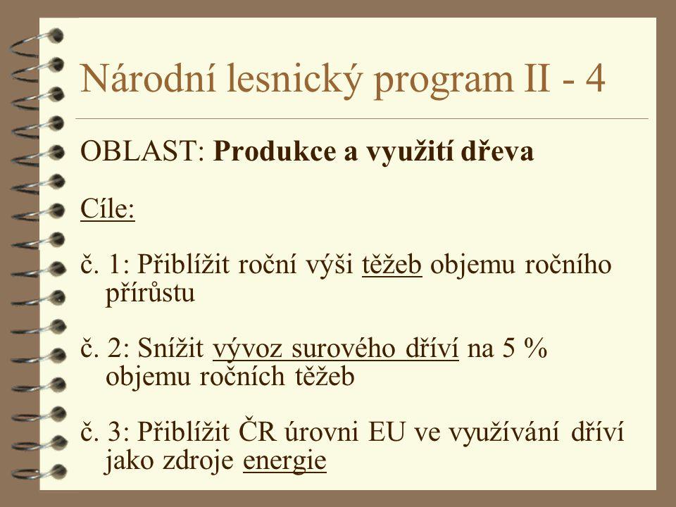 Národní lesnický program II - 4