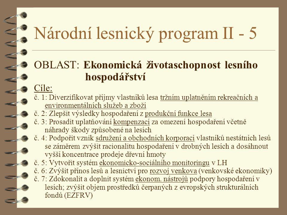 Národní lesnický program II - 5