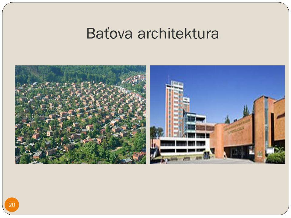 Baťova architektura