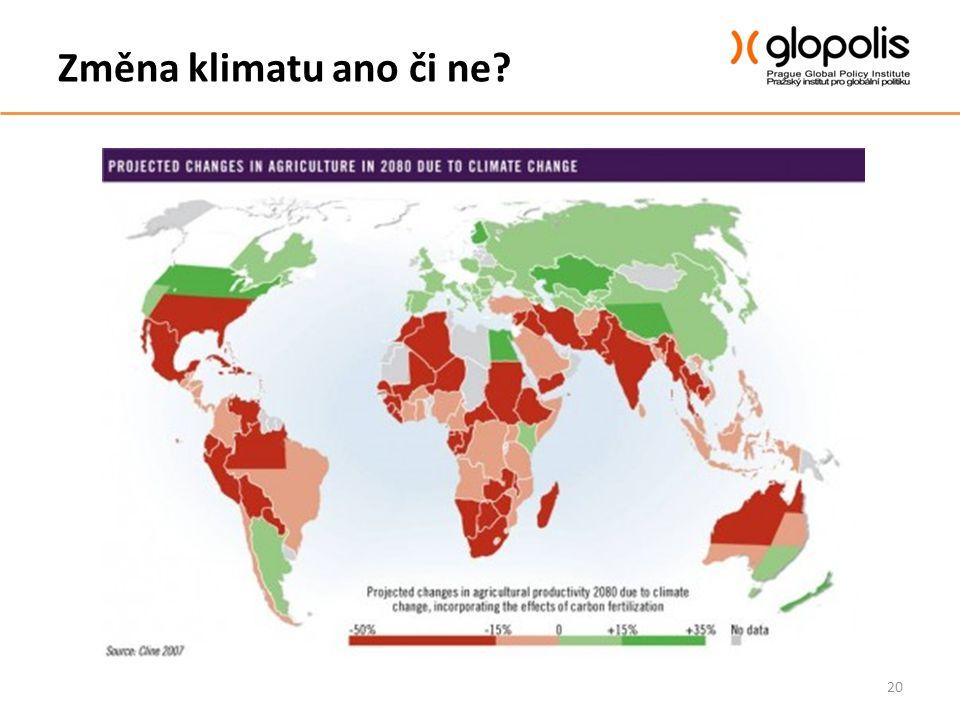 Změna klimatu ano či ne