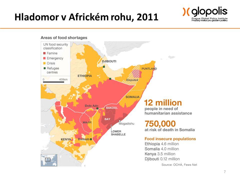 Hladomor v Africkém rohu, 2011