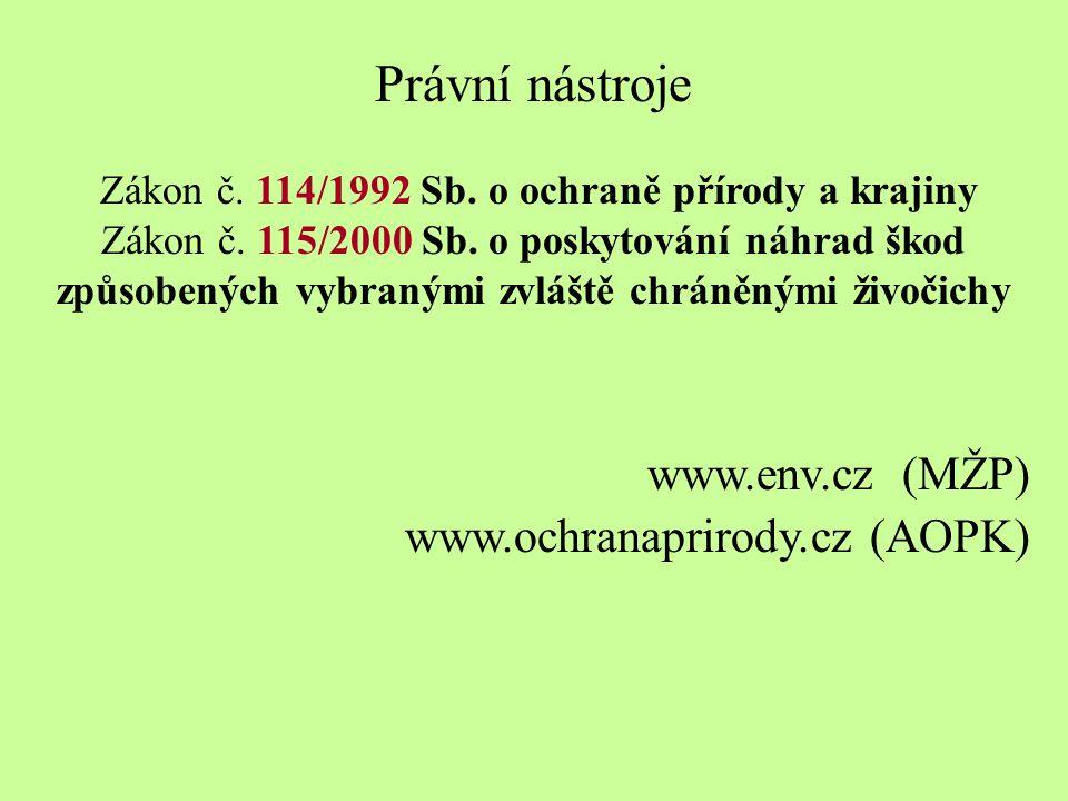 Zákon č. 114/1992 Sb. o ochraně přírody a krajiny