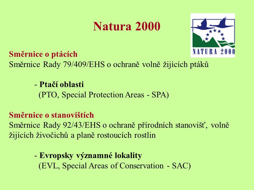 Natura 2000 Směrnice o ptácích