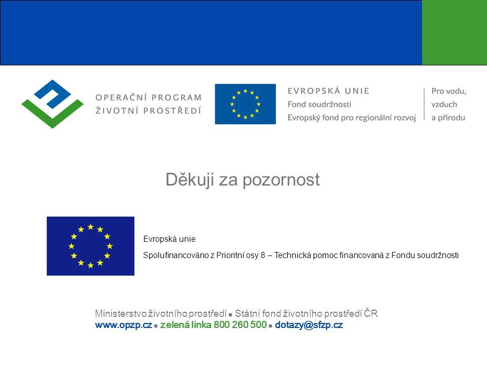 Děkuji za pozornost Evropská unie