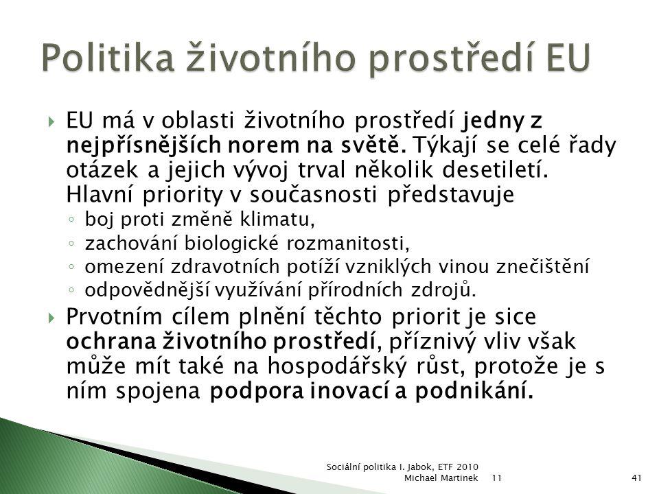 Politika životního prostředí EU