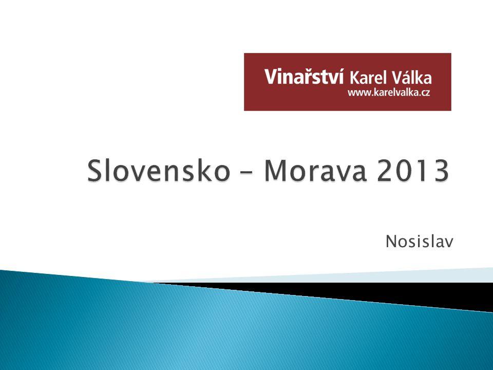 Slovensko – Morava 2013 Nosislav
