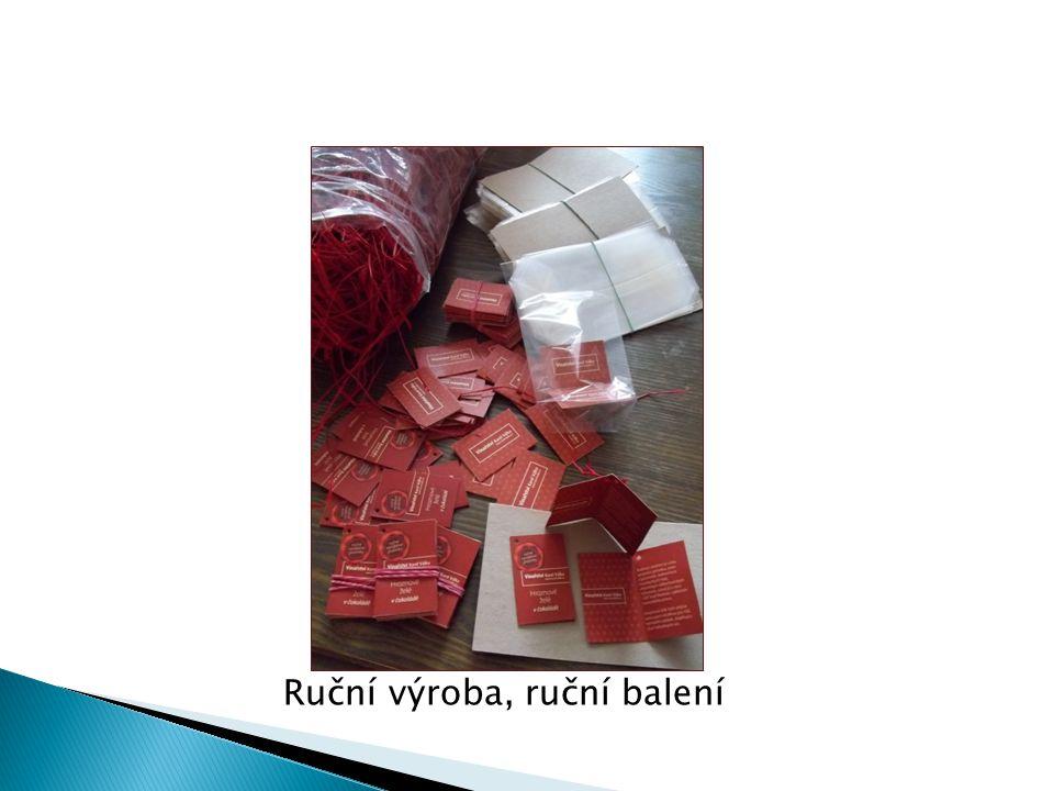 Ruční výroba, ruční balení