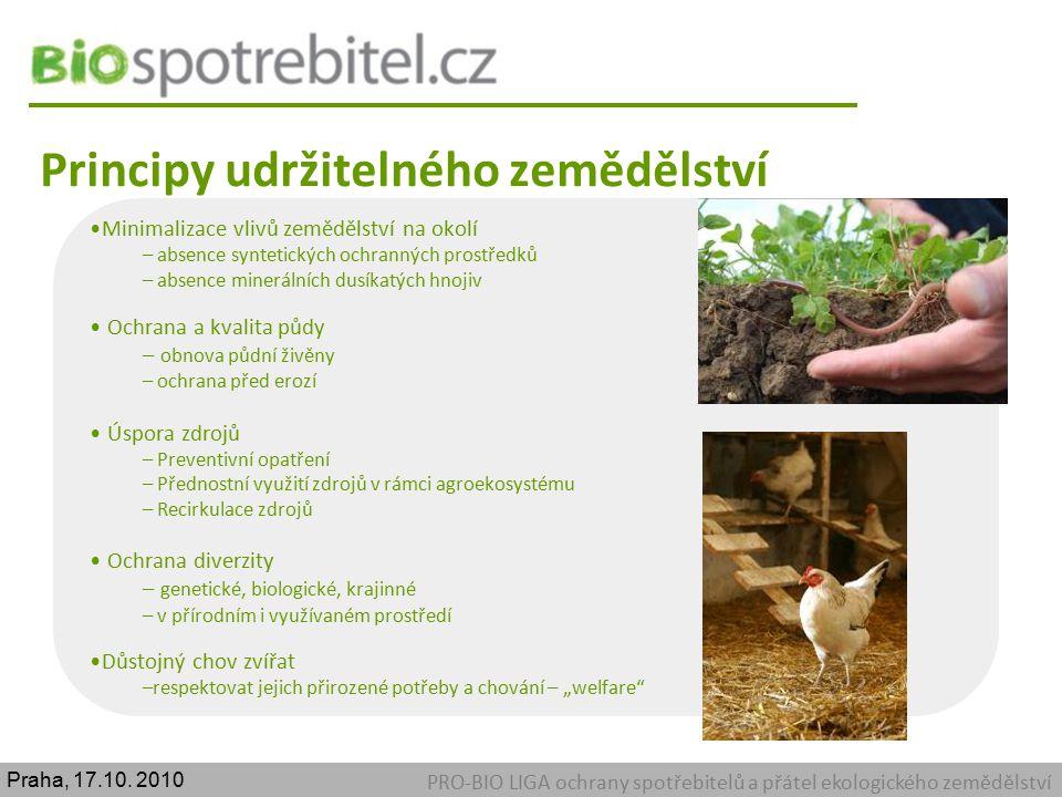 Principy udržitelného zemědělství