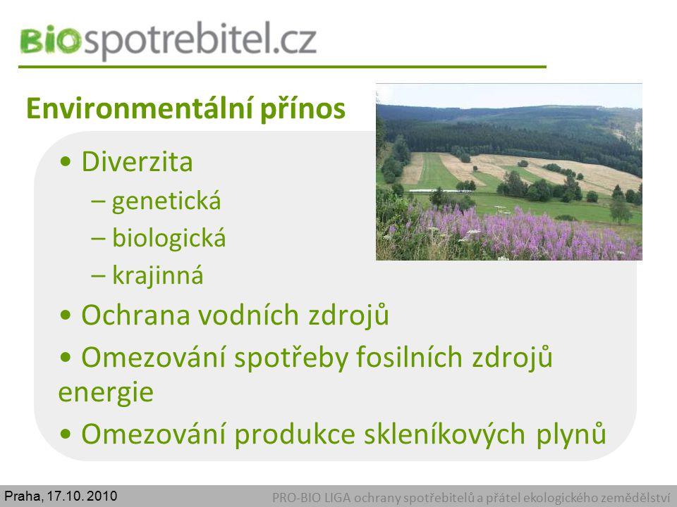 Environmentální přínos