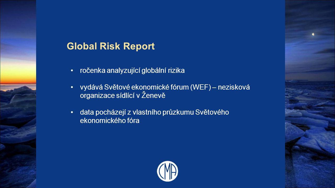 Global Risk Report ročenka analyzující globální rizika