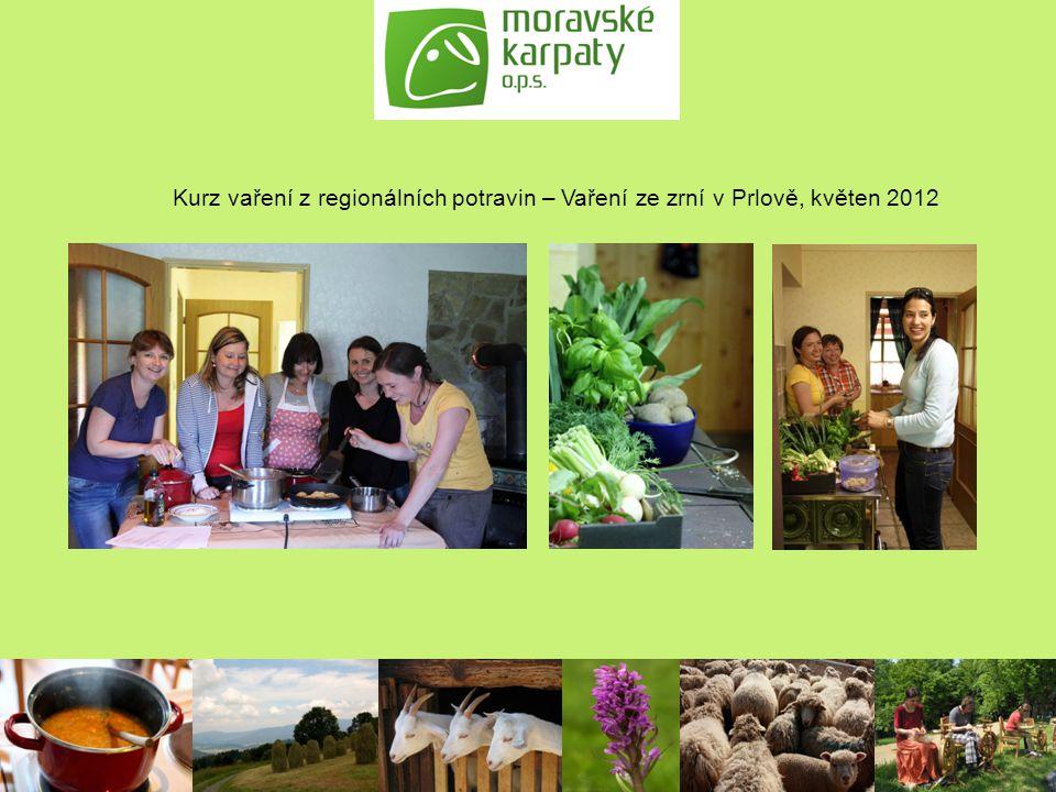 Kurz vaření z regionálních potravin – Vaření ze zrní v Prlově, květen 2012