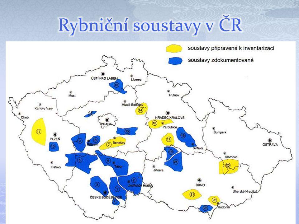 Rybniční soustavy v ČR