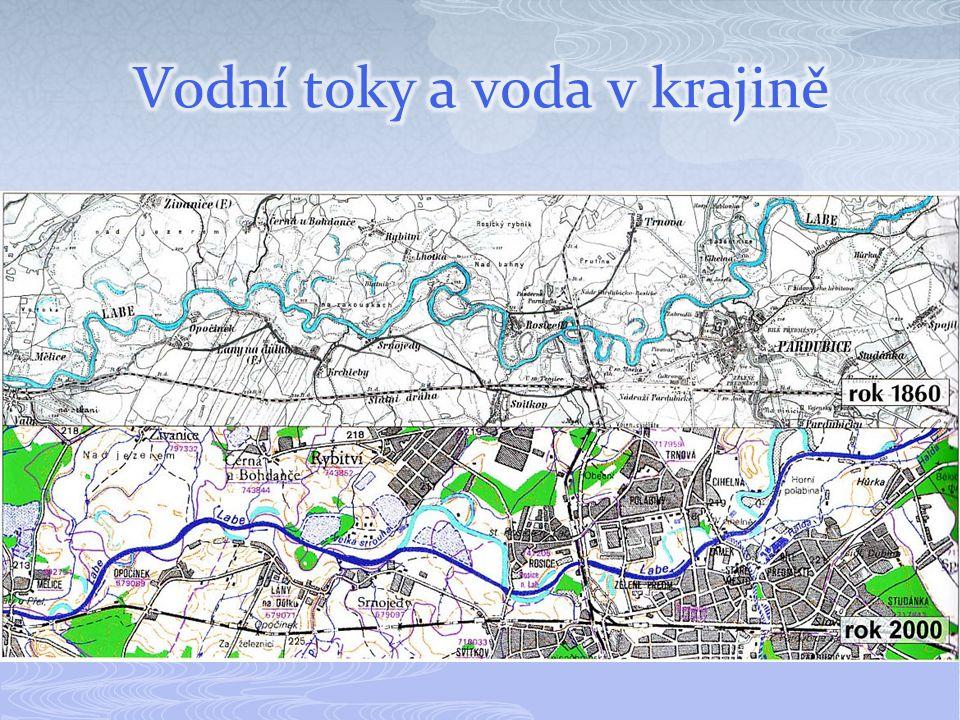 Vodní toky a voda v krajině