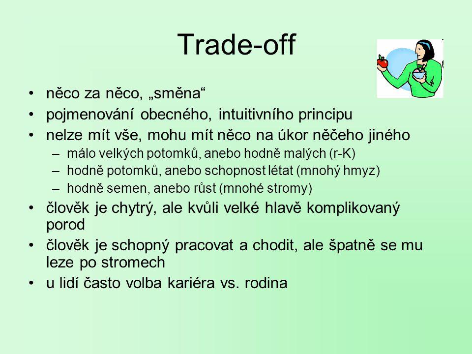 """Trade-off něco za něco, """"směna"""