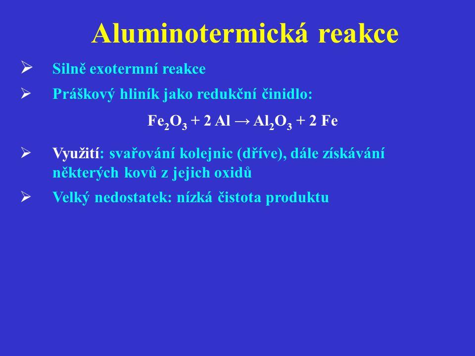 Aluminotermická reakce