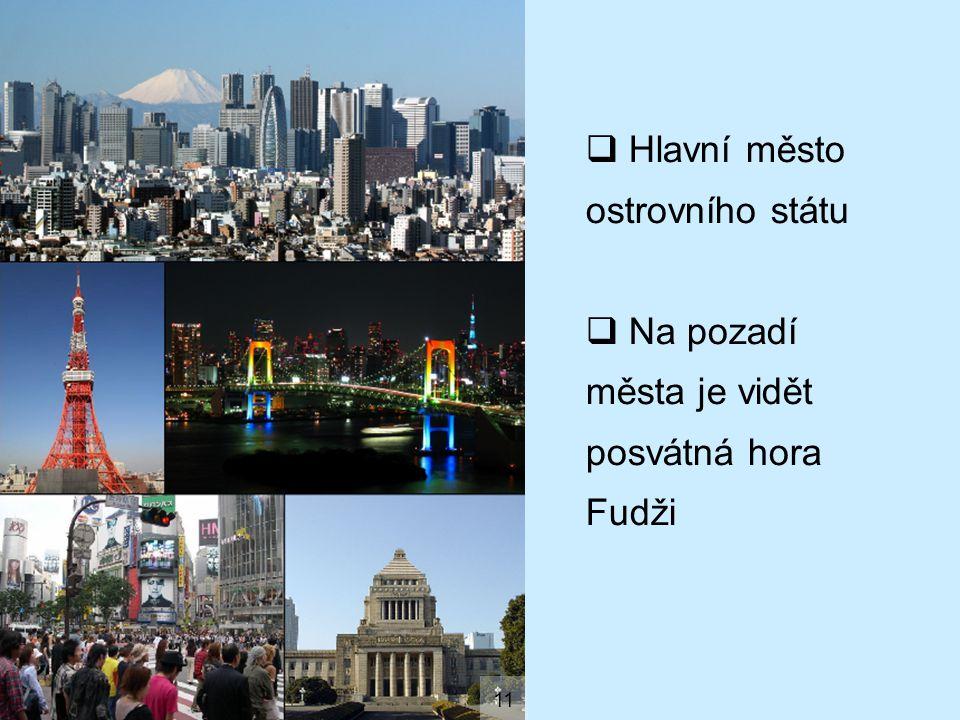 Hlavní město ostrovního státu
