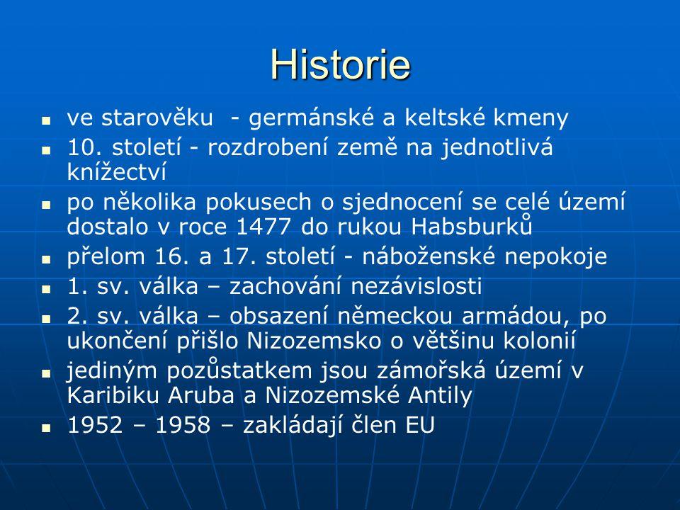 Historie ve starověku - germánské a keltské kmeny