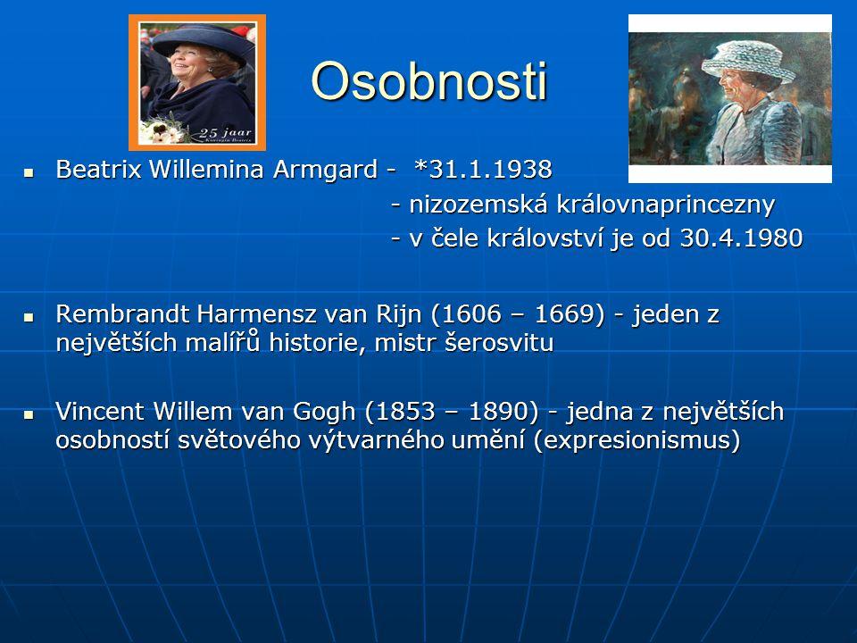 Osobnosti Beatrix Willemina Armgard - *31.1.1938