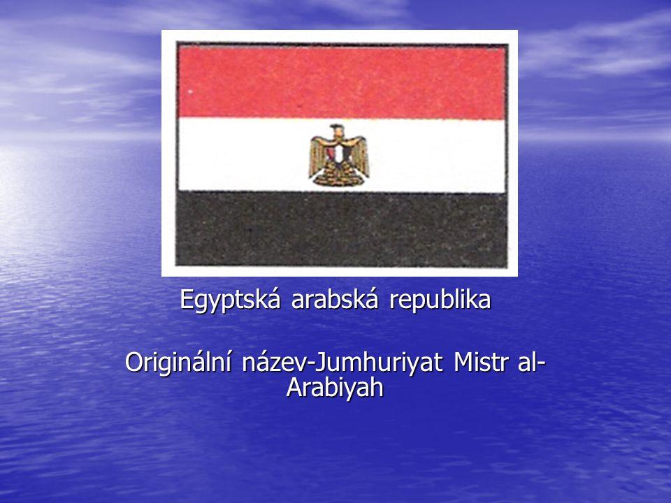 EGYPT Egyptská arabská republika