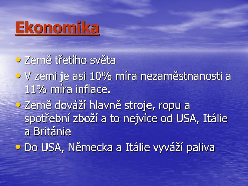 Ekonomika Země třetího světa