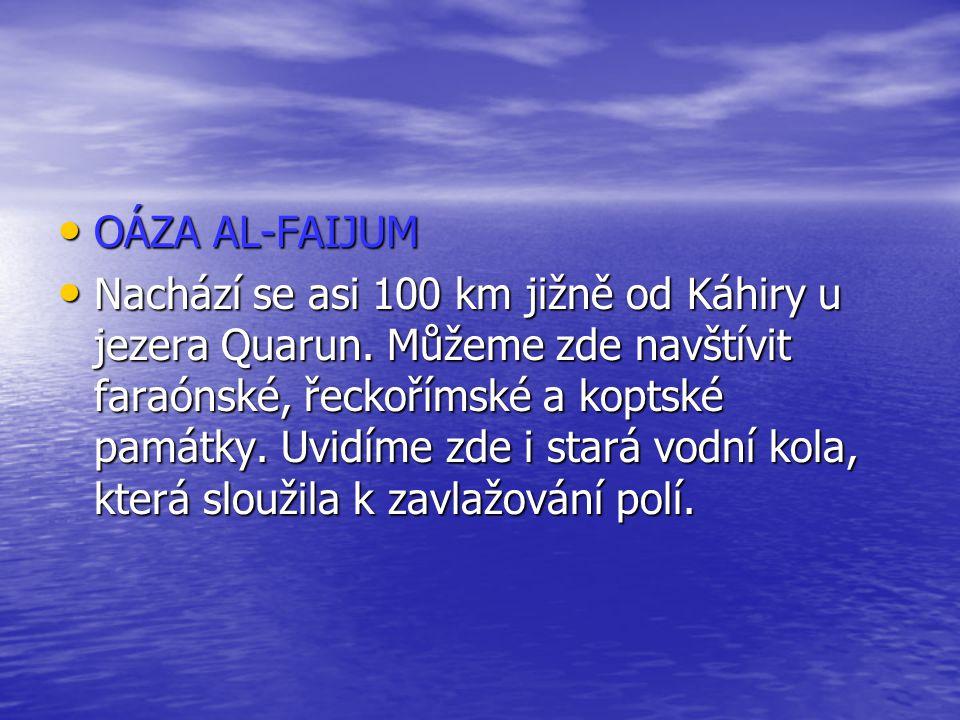 OÁZA AL-FAIJUM