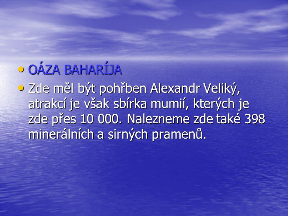 OÁZA BAHARÍJA