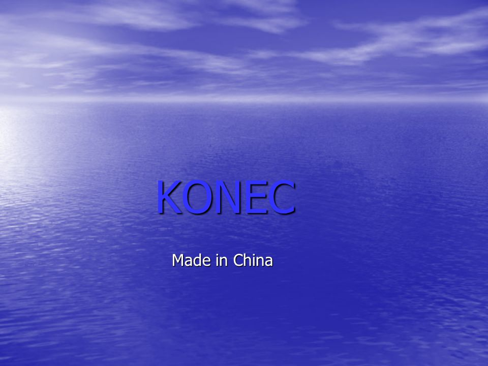 KONEC Made in China