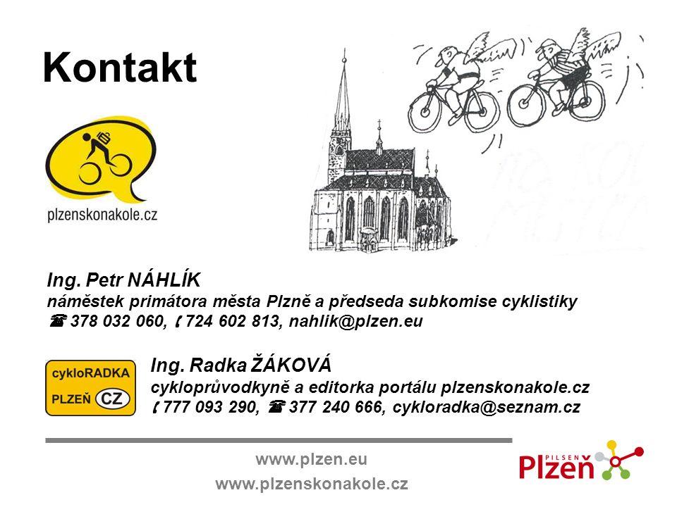 Kontakt Ing. Petr NÁHLÍK Ing. Radka ŽÁKOVÁ www.plzen.eu