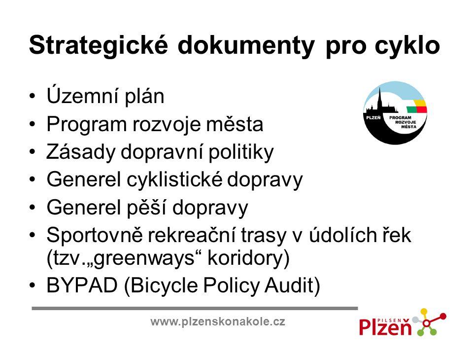 Strategické dokumenty pro cyklo