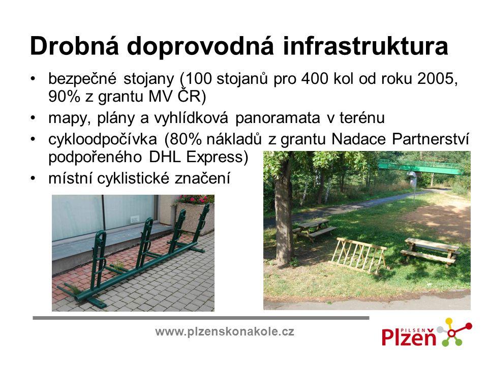 Drobná doprovodná infrastruktura