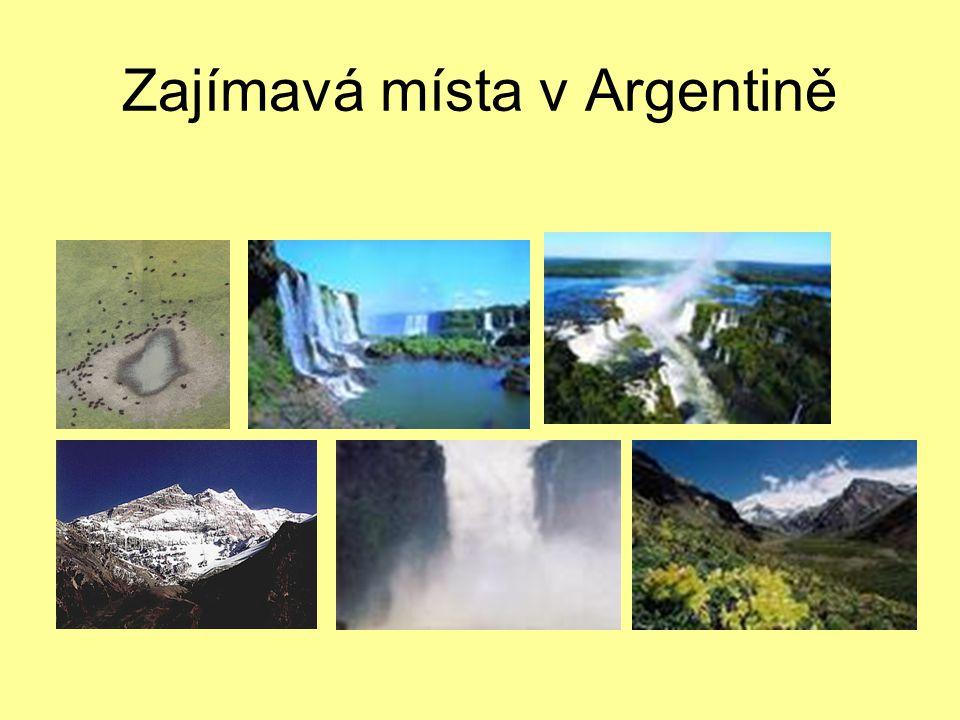 Zajímavá místa v Argentině