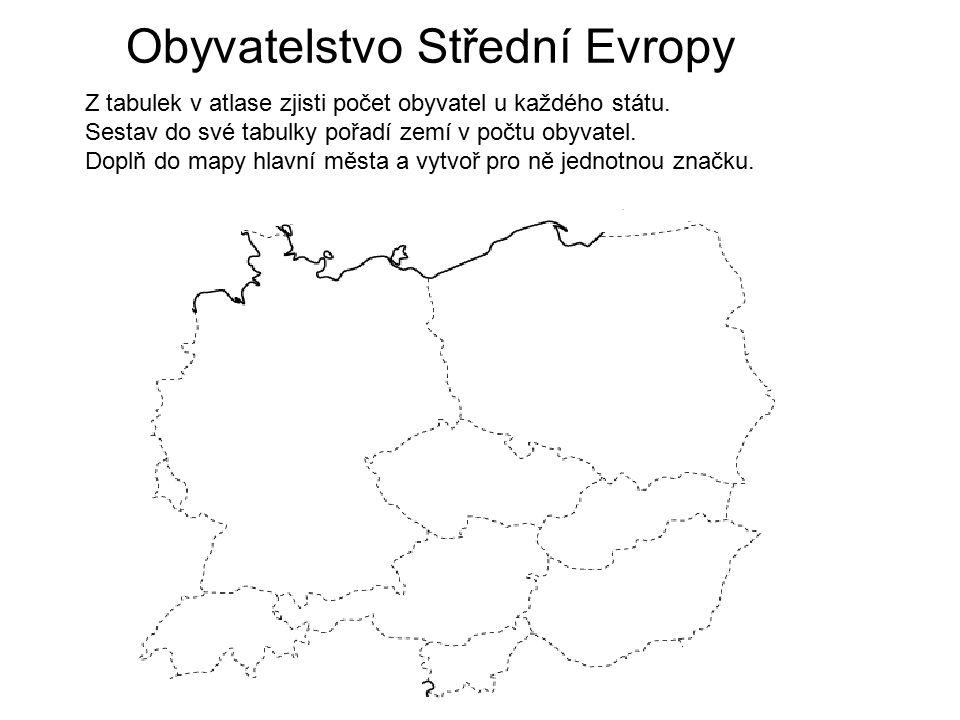 Obyvatelstvo Střední Evropy