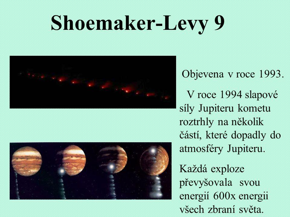 Shoemaker-Levy 9 Objevena v roce 1993.