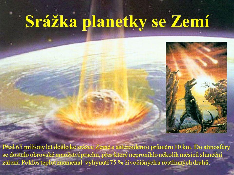 Srážka planetky se Zemí