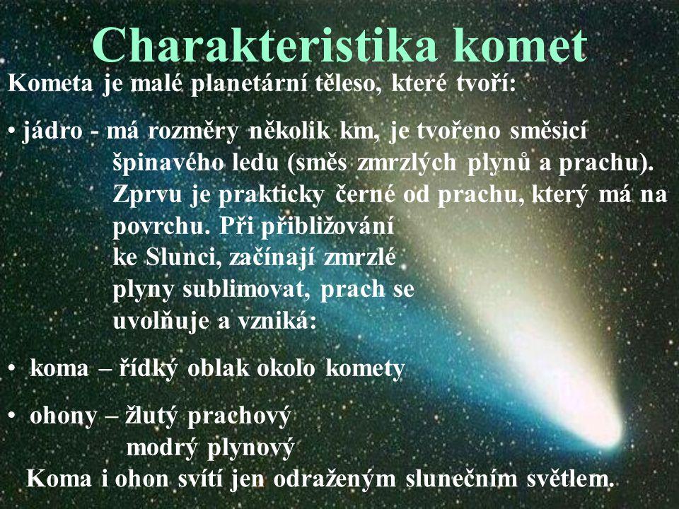 Charakteristika komet