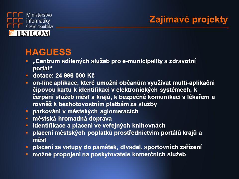 Zajímavé projekty HAGUESS