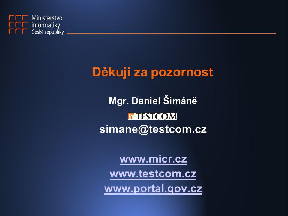 www.micr.cz www.testcom.cz www.portal.gov.cz