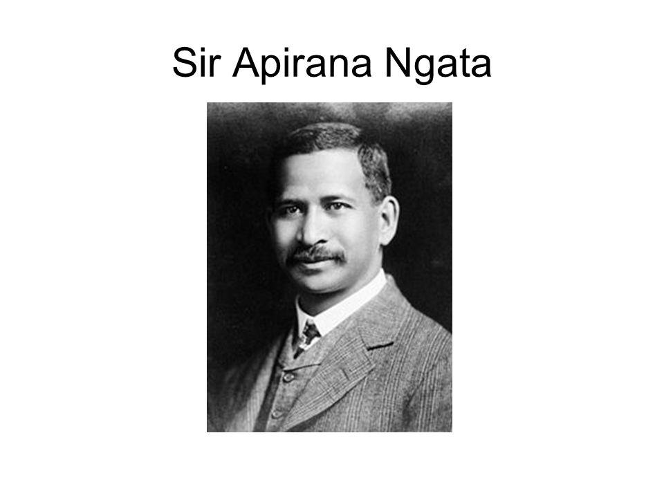 Sir Apirana Ngata